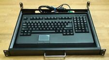 ADESSO ACK-730PB-MRP 1U Rackmount Keyboard with Touchpad (PS2)
