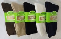 Jackson Hill Crew Diabetic Comfort Toe Full Terry Cotton Sock Made in USA M1600