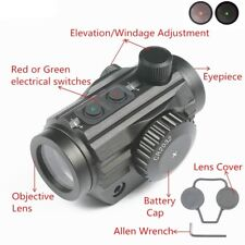 Micro Holographic 5 MOA Red/Green Dot Reflex Optic Sight Rifle Laser Scope