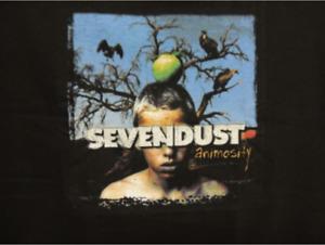 Sevendust Anomosity Tour Shirt Y2K vintage
