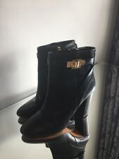 Ted Baker Leather Black Boots Size 5