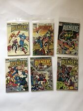 Official Marvel Index to the Avengers #1 - 6 (1987, Marvel) LOT OF 6