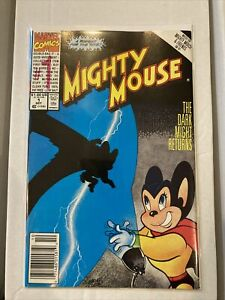 MIGHTY MOUSE #1 (Oct 1990 Marvel) THE DARK MIGHT RETURNS homeage cover comic NM-