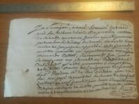24 Novembre 1826 Acte notarié - Reçu pour acquittement frais de vente 991 francs