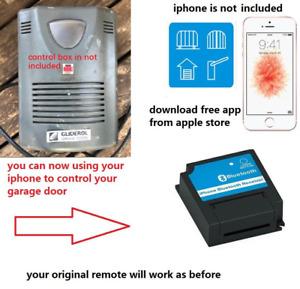 Gliderol Garage Door Remote tm305c glidermatic grd iphone receiver control kit