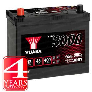 Yuasa Car Battery Calcium 12V 400CCA 45Ah T1/T3 For Honda Civic MK 6 1.6 VTi