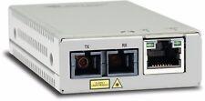 Allied Telesis AT-MMC200/SC-60 Mini Escritorio Ethernet-SC Fibra Convertidor De Medios