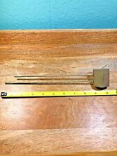 BIM BAM STRIKE CLOCK CHIME RODS SET WITH CHIME BLOCK      (Lot K1401)