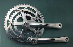 CAMPAGNOLO RACING T CRANKSET TRIPLE 175 MM 50-40-30T 9 OR 10 SPEED, VGC