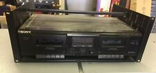 Sony Stereo Cassette Deck Tc-We305 with Rack Shelf