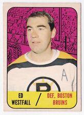 Ed Westfall 1967/'68 Topps #95 - Boston Bruins