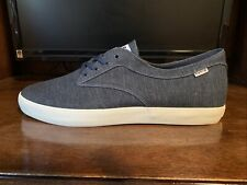 New listing New HUF Sutter Navy/Textile Men's Sneakers Skate Shoes Size: US 12