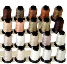 20 Spools FLESH/SKIN COLORS Polyester Embroidery Machine Thread