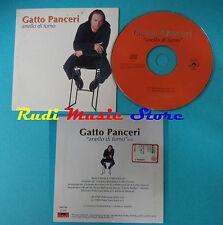 CD singolo GATTO PANCERI Anello Di Fumo 5002 506 PROMO no mc lp (S20**)