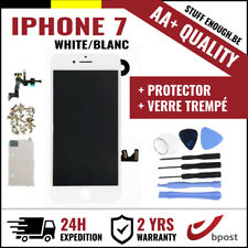 AA+ LCD SCREEN SCHERM ÉCRAN ASSEMBLY WHITE BLANC+TOOLS&VERRE TREMPÉ FOR IPHONE 7