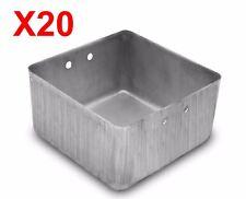 NEW 20 PCS 3X3 Aluminum Storage Box for Tool Box Chest