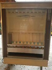 Vintage National Mechanical Chip Snack Vending Machine M&M's Frito Lays 1970s ?