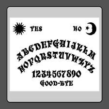 10 X 12 Gothic Style Ouija/Spirit/Ghost Board STENCIL Celestial Sun/Moon/Star!
