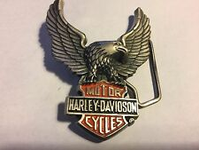 Harley Davidson - Brass belt buckle...LOOK