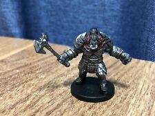 Monster Menagerie - Prepainted Miniature - Dungeons & Dragons Orc #13/45 Rare