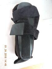 Deroyal Stirrup black hard shell padded ankle support brace one size