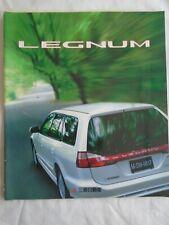 Mitsubishi Legnum brochure 1998 Japanese text + price list
