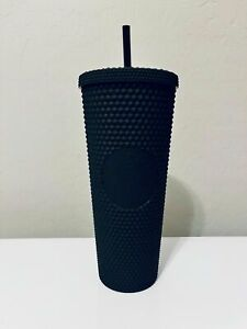 2021 NEW Starbucks Matte Black Studded Tumbler Cup - Limited Edition