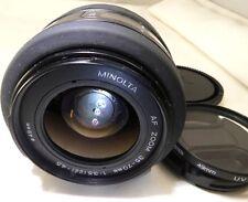 Minolta 35-70mm f3.5-4.5 AF Zoom Camera Lens Maxxum Auto focus Sony A mount a58