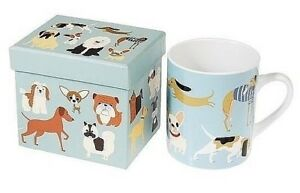 Pedigree Dog Mug Gift Boxed Frenchie Pug Dachshund Chihauhua Greyhound