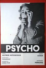 PSYCHO HITCHCOCK JANET LEIGH 1960' ANTHONY PERKINS RARE EXYU MOVIE POSTER