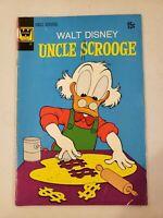 Walt Disneys Uncle Scrooge #100 Whitman Comic 1972 Bronze Age Very Good