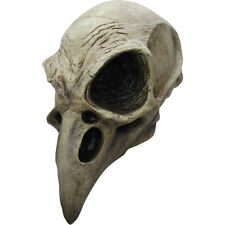 Crow Skull Adult Latex Mask Bird Vulture Full Over-The-Head Costume Halloween