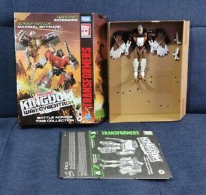 Transformers Maximal SKYWARP War for Cybertron WFC Kingdom Battle Across Time