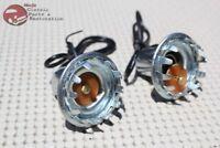 59-65 Chevy Impala Back Up Reverse Light Lamp Metal Sockets Single Contact Bulb
