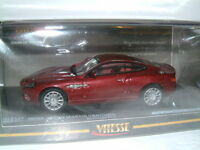 1/43 VITESSE ASTON MARTIN VANQUISH IN ROTHESAY RED, LIMITED TO 890 PIECES