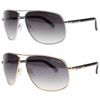 Classic Retro Mens Fashion Metal Aviator Vintage Designer Sunglasses Black