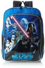Disney Star Wars Darth Vader & Stormtroopers Backpack Side Mesh Pockets NWT