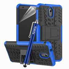Icatchy for Nokia 3.1 Case Heavy Duty Hard Tough Dual Layer Armor Drop Cover