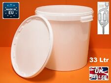 33L FERMENTATION BUCKET WITH AIRLOCK HIGH QUALITY Largest Size
