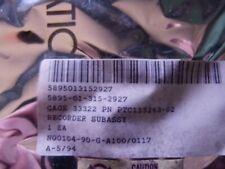 PTC115263-02 RECORDER SUBASSEMBLY NSN: 5895-01-315-2927