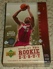 2006/07 Upper Deck Rookie Debut Basketball Hobby Box - Factory Sealed