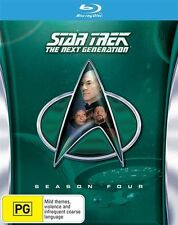Star Trek Next Generation : Season 4 (Blu-ray, 2013)
