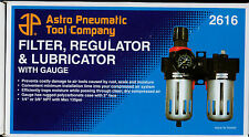 "CONTROL UNIT AIR LINE 3/8"" Filter, Regulator and Lubricator with Gauge AST2616"