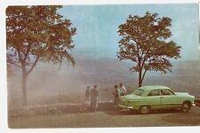 Skyline Drive Panorama SPERRYVILLE VA Senandoah National Park Postcard 1950 Ford