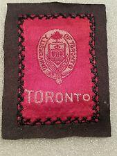 Vtg 1910 University of Toronto Ontario Egyptienne Luxury Tobacco Silk Nice