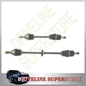 A SET OF TWO CV JOINT DRIVE SHAFT FOR MAZDA 121 DB 1.3L or1.5L auto 1992-1997