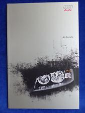 Audi A3 - Technische Daten Farben Ausstattungen - Prospekt Brochure 05.2003