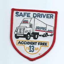RPS Roadway Package System 13 yr accident free patch 3-3/4X3-5/8 #1949