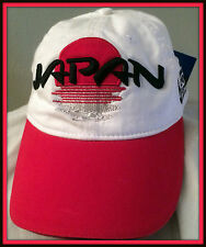 JAPAN 2011 RUGBY WORLD CUP COLLECTION  ADULT ADJUSTABLE CAP FREE SHIPPING IN US