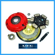 UFC RACING STAGE 3 CERAMIC CLUTCH KIT+ALUMINUM FLYWHEEL 94-01 ACURA INTEGRA B18